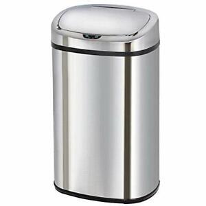 Poubelle-de-cuisine-automatique-58L-grande-capacite-en-acier-INOX-avec-cerclage