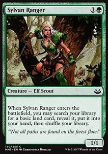 MTG 2x SYLVAN RANGER - RANGER SILVANA - MMA3 - MAGIC