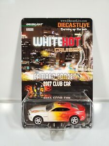 Greenlight-White-Hot-Cruiser-Camaro-Concept-2007-Club-Car-1-64-Diecast-NOC
