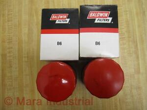 Baldwin Filter B6 Spin On Filter Pack Of 2
