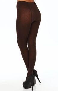 54ff55f179f38 HUE Espresso Brown (207) Flat Knit Sweater Tights U13988, S/M - MSRP ...