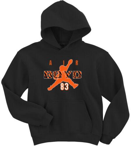 """Tyler Boyd Cincinnati Bengals /""""AIR/"""" jersey Hooded SWEATSHIRT HOODIE"""