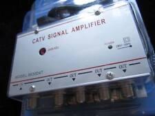 AMPLIFICADOR DE SEÑAL DE TELEVISION-4 SALIDAS-TV SIGNAL AMPLIFIER.TDT-ANTENA-TV