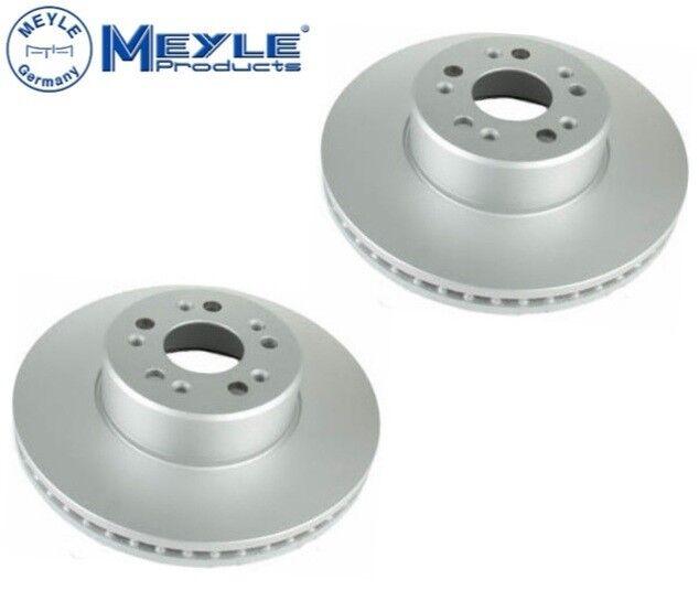 For Mercedes W140 S320 S420 S500 S600 300SE 500SEL Set of 2 Disc Brake Rotor