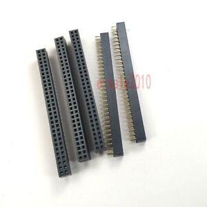 10Pcs 2mm 2x16 Pin 32 Pin Female Double Row Straight Pin Header Strip
