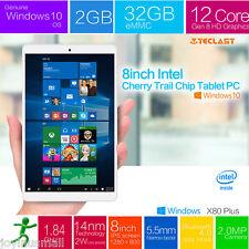 "8"" inch HD 2+32GB Intel Tablet PC Windows10 Android5.1 Quad Core Bluetooth WIFI"