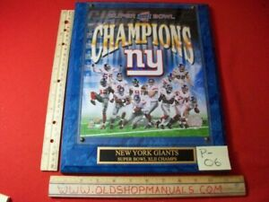 2008-SUPER-BOWL-XLII-CHAMPIONS-NY-GIANTS-NFL-AUTHORIZED-LIMITED-EDITION-PLAQUE