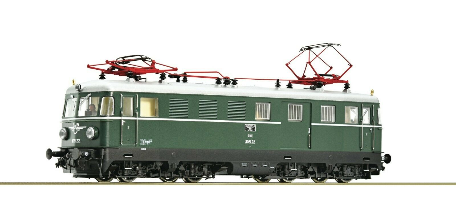 Roco HO scale Electric Railcar class 4061 Digital with Sound OBB