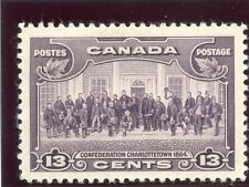 Canada 1935 KGV 13c purple superb MNH. SG 348. Sc 224.