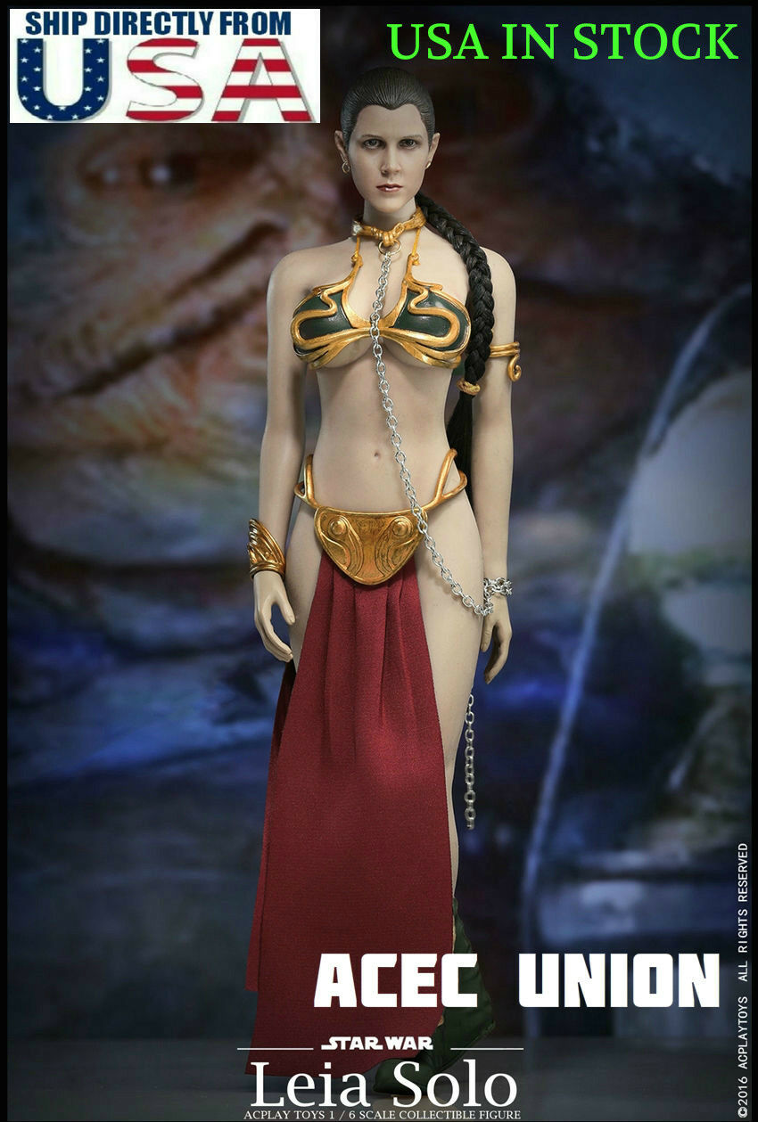 1/6 Star Wars Princess Leia Organa Slave Outfit Set For Hot Toys PHICEN USA