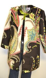 3-Sisters-Jacket-S-Women-039-s-Long-Tunic-Coat-Made-in-America-1922-3S715