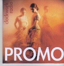 (CV378) Clockwork Radio, So Will I - 2011 DJ CD