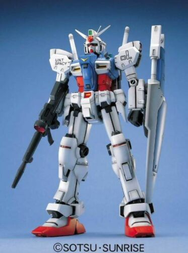 ACTION-FIGUR MG GUNDAM GP01 1/100 BANDAI MODELL KIT Anime & Manga
