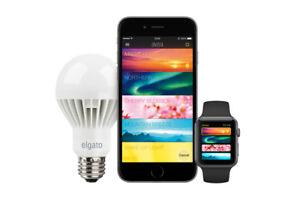 ELGATO Avea Dynamic Mood Light Bluetooth Controlled LED Bulb iPhone iPad Watch