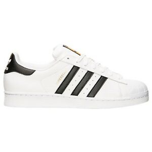 c77124} adidas superstar (bianco / nero) originali di nuovo su ebay