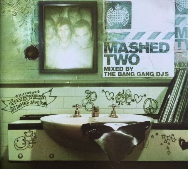 Mashed Two Mixed By The Gang Bang DJS  2 CD Brand New and Sealed