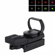 Red 2016 20mm / 11mm 1 x 22 x 33 Dot Sight Hunting Scope Holographic Reflex