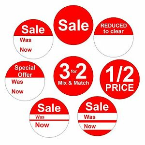 Details About Reduced Price Point Of Stickers Labels Pos 35 Per Sheet