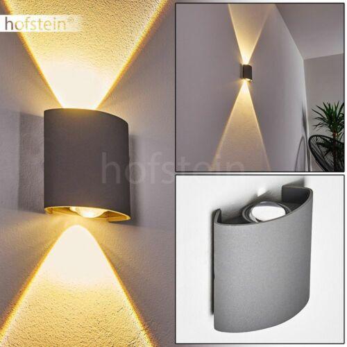 Muro esterno luci LED Up Down Lampada Grigio balcone terrazza casa illuminazione porta