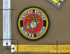 """Ricamata / Embroidered Patch """"US Marine Corps Insigna"""" with VELCRO® brand hook"""