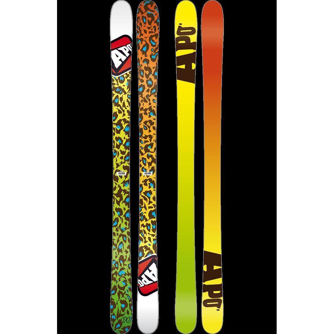 Skiing ski  Apo Forward 171 Cm Twin Tip-Wood Core Freeride Park Double  shop online