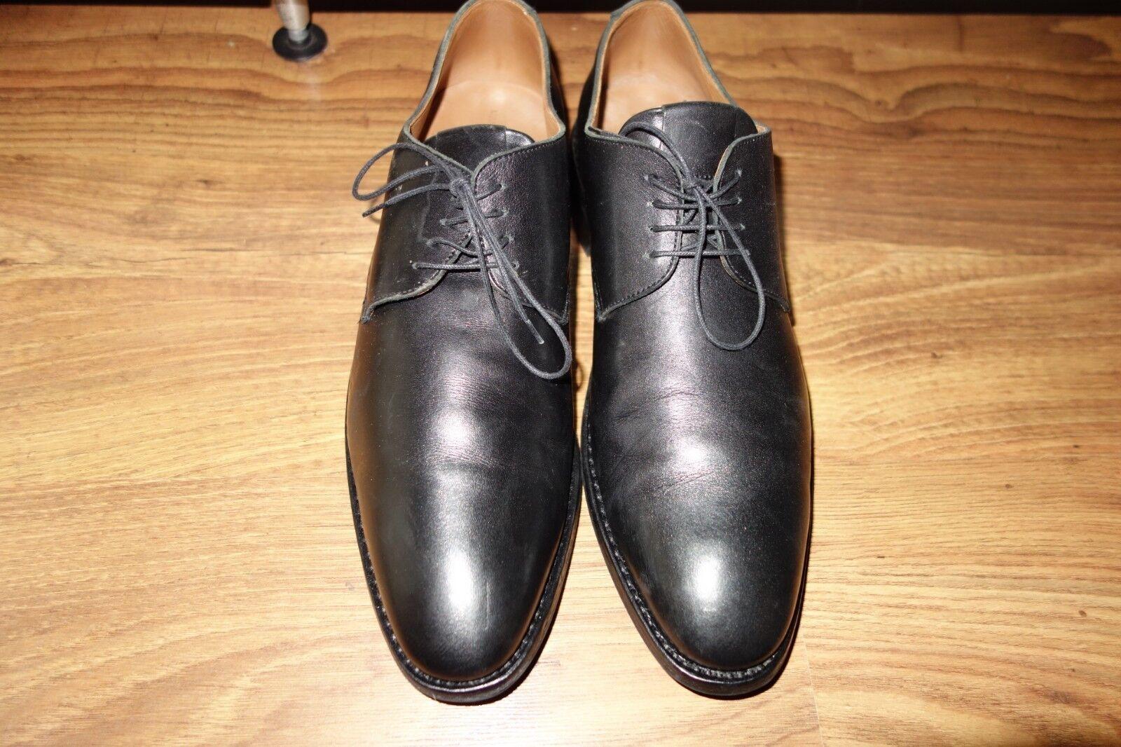super heschung, en excellent cuir noir, taille 10, excellent en état 54a0dd
