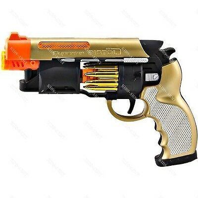 Blade Runner StyleToy Pistol With LED Lights Moving Parts and Sound Effects