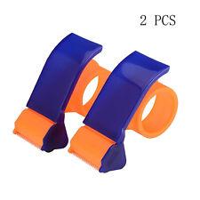 Packing Tape Dispenser Easy Mount Tape Gun Packaging Sealing Cutter Handheld 2pc