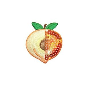 ID 1257 Golden Pear Patch Fall Tree Fruit Snack Embroidered Iron On Applique