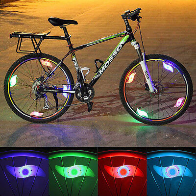 Schlussverkauf Bike Bicycle Cycling Wheel Spoke Wiretyre Bright Led Flash Light Lamp 1 2 3 Or 4
