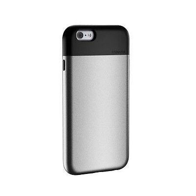 "NEW LUNATIK FLAK 4.7"" IPHONE 6 DUAL LAYER SHELL CASE COVER IN SILVER FLK6-4704"