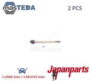 2x-JAPANPARTS-VORNE-AXIALGELENK-SPURSTANGE-RD-612-G-NEU-OE-QUALITAT