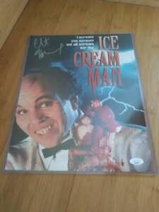 Ice Cream Man Clint Howard Autograph Signed 11x14 Photo JSA COA