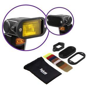 Magnetic-Honeycomb-Grid-Spot-Filter-Set-For-Nikon-Canon-Flash-Speedlite-Selens