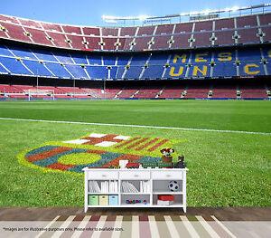 Nou Camp Wall Art Mural Barcelona Fc Quality Pastable Wallpaper