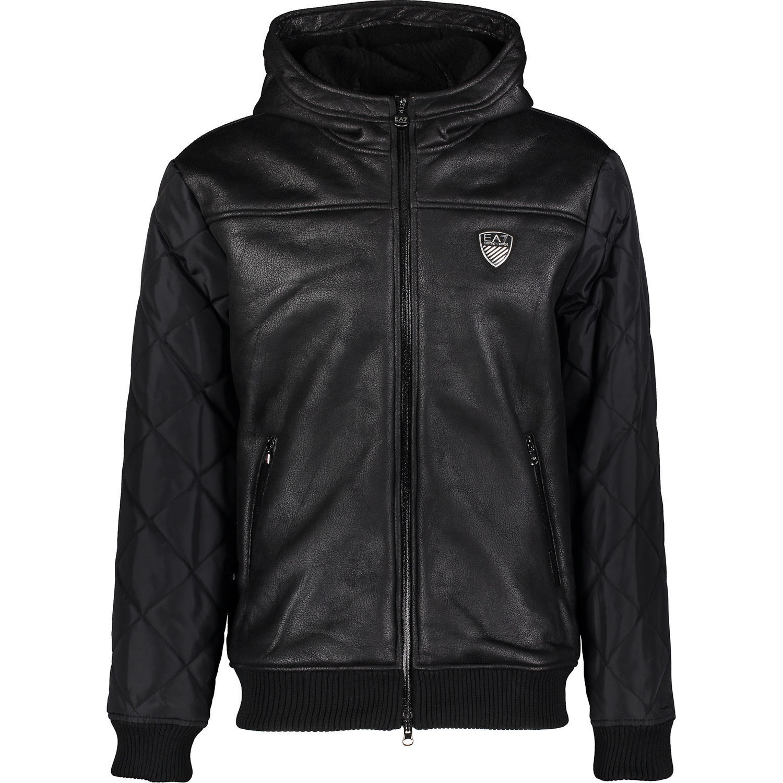 0c70b9ae Jacket Men Ea7 Emporio Armani 7 6xpba5 Black Hood Mens S