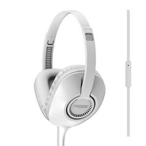 Casque-Professionnel-Stereo-Circumaural-Microphone-Koss-UR23IW-Couleur-Blanche