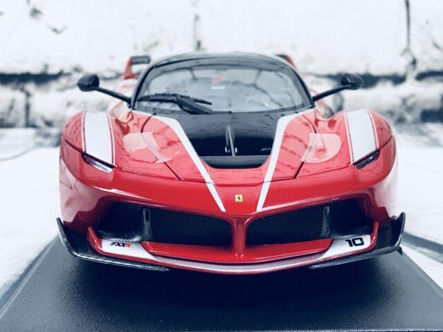 Maisto Diecast Escala 1:18 Edición Especial Modelo de Coche-Ferrari FXX K