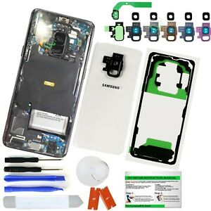 Clear-Transparent-Back-Glass-Replacement-Kit-for-Samsung-Galaxy-S9-S9-Plus