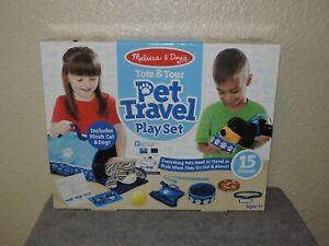 Melissa & Doug Fourre-Tout & Tour Pet Travel Play Set
