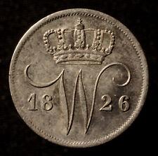 Kgr. Niederlande, Wilhelm I., 10 Cents 1826 Utrecht