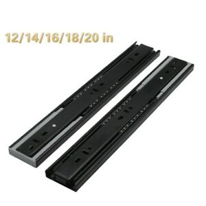 1-Pair-Damping-Ball-Bearing-Drawer-Slides-Runners-Full-Extension-Soft-Close-Home