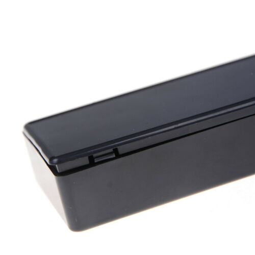 Schwarz Kunststoff Projekt Box Gehäuse Instrument Fall Elektronische85*50*21mmPD