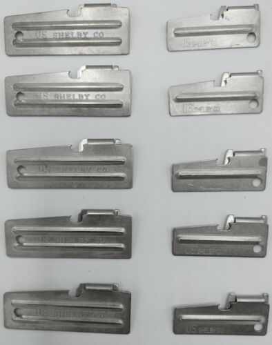 Details about  /P38 /& P51 Can Opener 10 Pack 5 of Each US Shelby CO U.S Made NEW Survival Gear