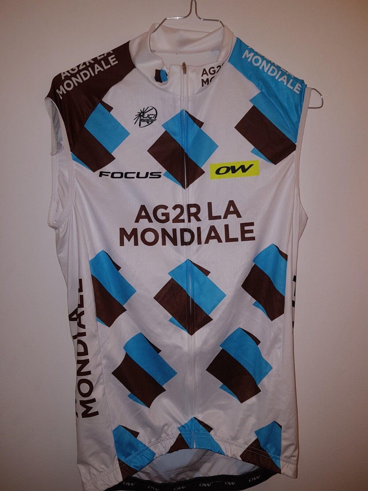 Maillot cycliste vélo SERGENT cyclisme AG2R GIRO cycling jersey radtrikot