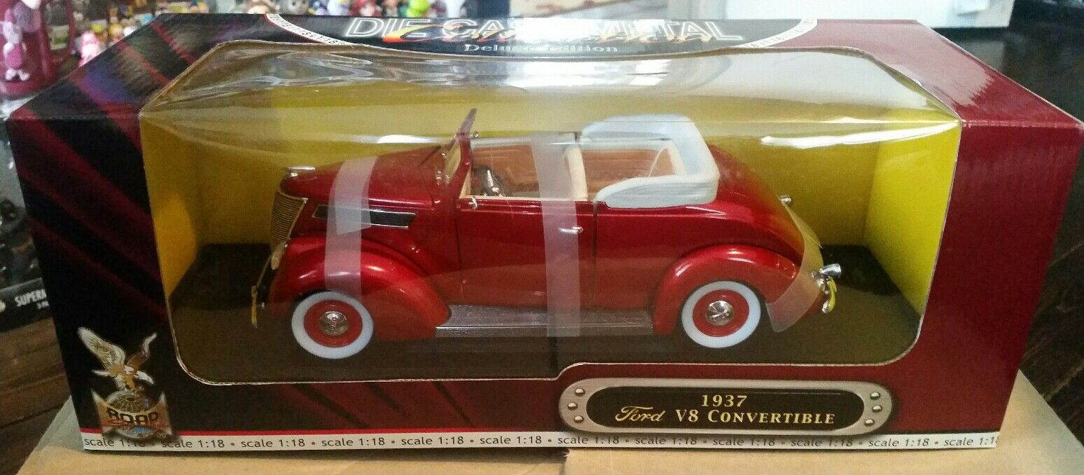 Road Signature 1 18 1937 Ford Ford Ford V8 Congreenible MIB 965423