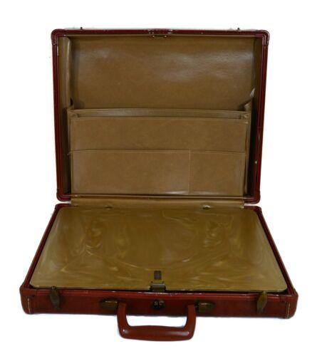 1950s Samsonite Attache Briefcase Leather Hard-she