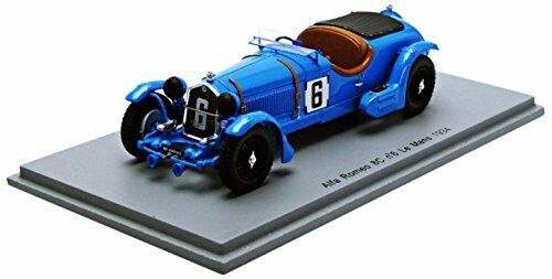Alfa Romeo 8c  6 30th Lm 1934 Lord E. Howe   T. Rose Richards 1 43 Model