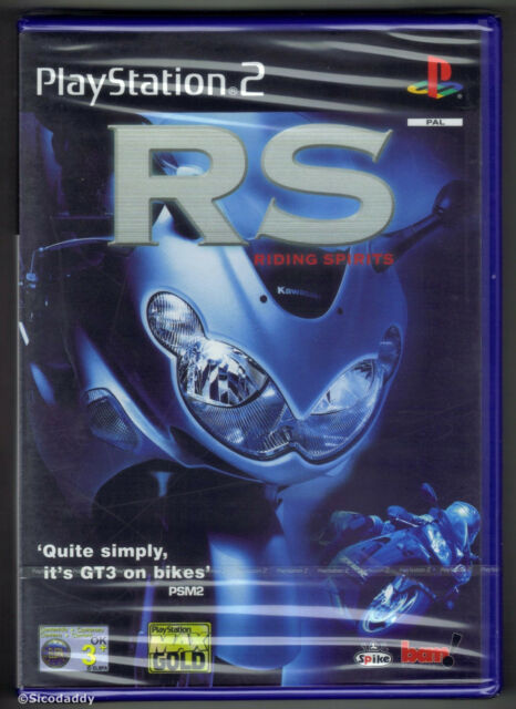 PS2 Riding Spirits (2002), UK Pal, Brand New & Sony Factory Sealed