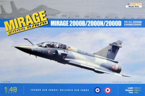 1 48 Kinetic Mirage 2000B 2000D 2000N